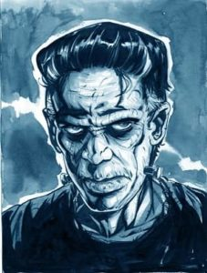 Frankenstein and electrotherapy