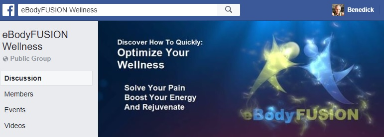 eBodyFUSION Wellness Facebook group
